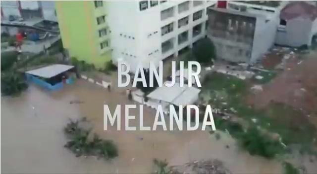 Banjir melanda Kota Bekasi