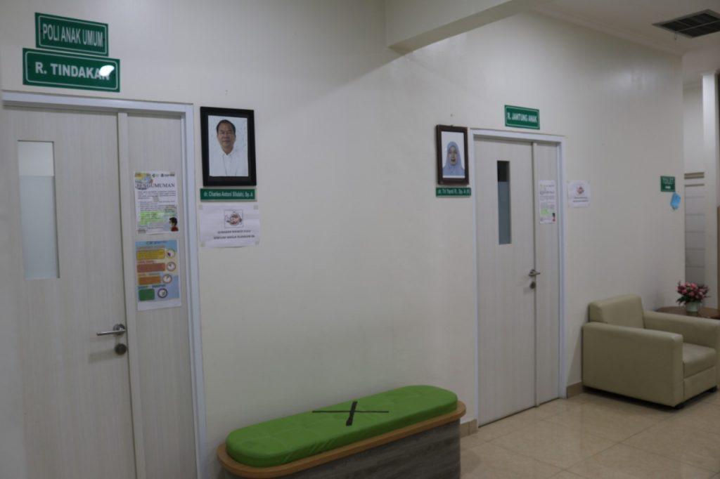 Ruang Dokter Poliklinik Eksekutif Anak (Merak)