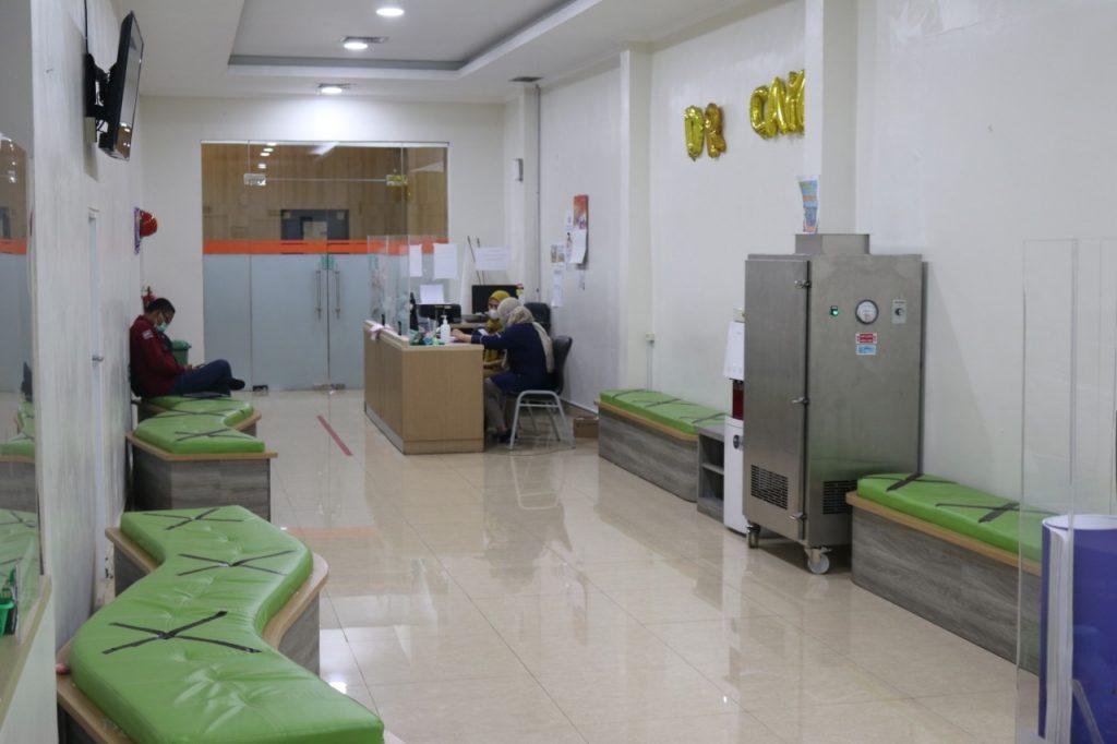 Ruang Tunggu Poliklinik Spesialis Anak (Merak)